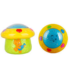 baby crib lights toys free shipping musical projector mushroom baby crib projector light