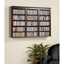 wall mount media cabinet south shore city life weathered oak media storage 9062675 the