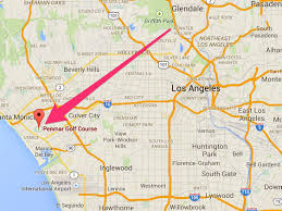 Chinatown Los Angeles Map by Harrison Ford Crashes Plane On An La Golf Course Business Insider