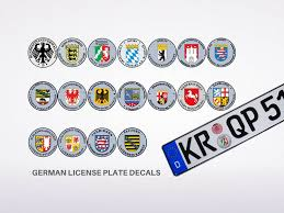 german license plate 101 all you wanna know europlates wiki