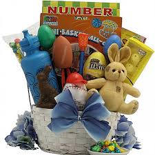 easter gift baskets streme sports boys easter gift basket ages 6 to 9 years