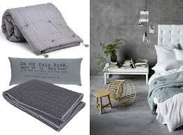 chambre en gris une chambre à la déco grise joli place