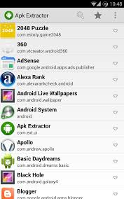 how to get apk file how to get extract apk file of installed application on android