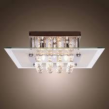 Flush Mount Chandeliers by Modern Crystal Chandelier Lighting U2013 Goworks Co