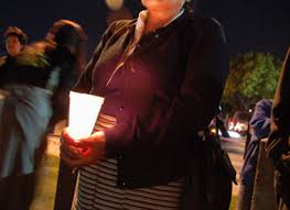 15 candle lighting time los angeles pictures in the news dec 21