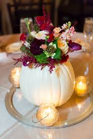 flower centerpieces for weddings 50 fall wedding ideas with pumpkins deer pearl flowers