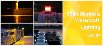 Marine Solar Lights - solar flair lighting smart solutions in outdoor solar lights