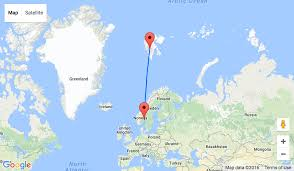 Sas Route Map by Sas Direct Flights From Oslo To Svalbard Spitsbergen From U20ac83