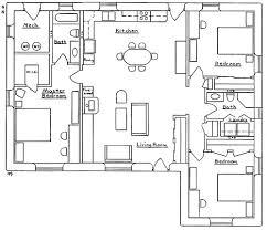 Mechanical Floor Plan Beachcomber House Plan