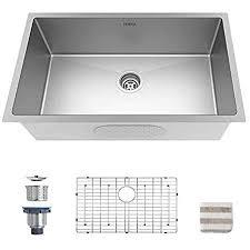 best kitchen sink for 30 inch base cabinet torva 30 inch undermount kitchen sink 16 stainless steel undermount single bowl 30 x 18 x 10 inch fits 33 inch cabinet