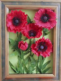 poppies painting poppies flowers from polymer clay interior colors interior painting mural