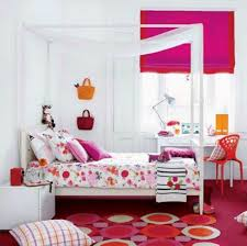 Pink Armchair Design Ideas Girls Bedroom Artistic Pink Red Bedroom Decoration Using White