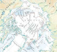 Circle Map Arctic Atlas Arctic Maps Arctic Region Maps Arctic Zone Maps