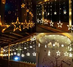 led glow luminous string curtain lights curtain wedding