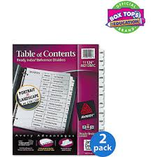 buy avery ready index classic tab titles 31 tab 11128 1 31