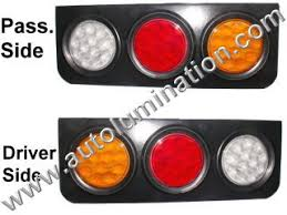 led brake lights for trucks led replacement tail taillights auxiliary lights 5th wheel semi