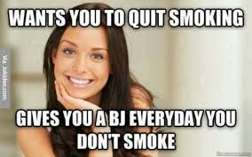 Quit Smoking Meme - name for people without beards meme