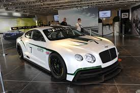 customized bentley bentley continental gt3 live photos 2013 goodwood festival of