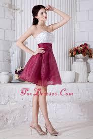 best graduation dresses burgundy a line mini beading graduation homecoming dress