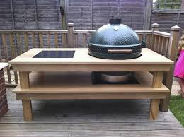 Xl Big Green Egg Table Plans Table Plans Pdf Download Big Green