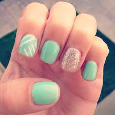i u0027m obsessed with my mint gel manicure nails nails nails