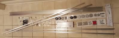 installation kohler levity sliding shower door 74