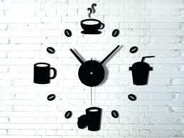 pendule murale cuisine horloge murale cuisine horloge gare metal bois murale style