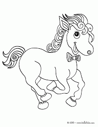 kawaii horse coloring page coloring home