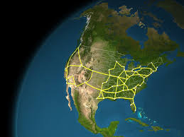 Train Map Of America by Watch An Animated Map Of A High Speed Rail Network In The Us