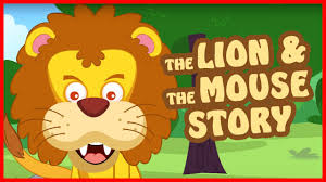 lion and mouse story in english bedtime story for kids youtube