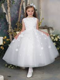 joan calabrese communion dresses tea length tulle formal dress joan calabrese 112309