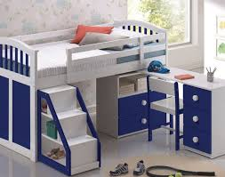 bunk bed with desk plans kids loft bed with desk wood all home
