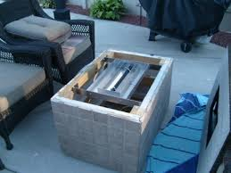 How To Build A Gas Firepit Make Your Own Gas Pit How To Build A Gas Or Propane