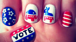nailed it presidential campaign nail art pops on instagram