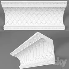 Decorative Cornice 3d Models Decorative Plaster Cornice