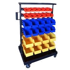 Storage Bin Shelves by 60 Bin Small Parts Storage Shelf Hobby Tools Rack Warehouse