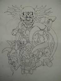 clown sleeve by xxhooliganxx on deviantart