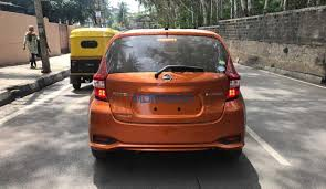 nissan note 2017 nissan note e power spotted testing in india autodevot