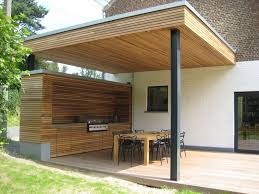 abri cuisine ext駻ieure terrasse couverte à vieux genappe terrasse couverte cuisine