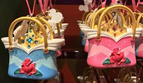 disney unveils brand new purse ornaments for princesses