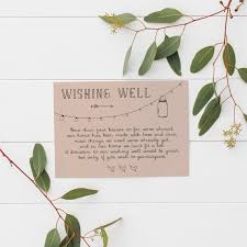 wedding wishes gift registry non tacky wishing well poems and sayings asking for money politely