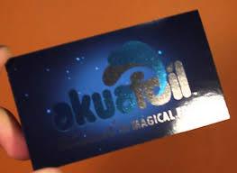aqua foil cards 5 5 5 0 or 5 4 budget printing