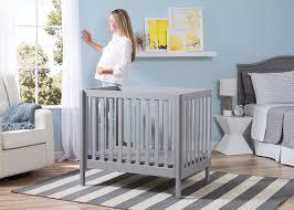 Crib With Mattress Delta Mini Crib Mattress 2 Delta Children Grey 180 Bennington