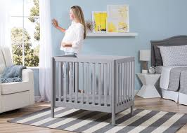 Grey Mini Crib Delta Mini Crib Mattress 2 Delta Children Grey 180 Bennington