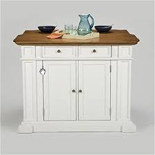 home style kitchen island home styles 5002 94 kitchen island white and distressed oak