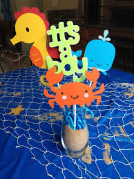 the sea baby shower the sea baby shower centerpieces in stock and ready to