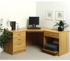 Home Office Desk Oak by Hampton Oak Corner Desk