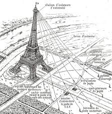 eiffel tower wireless antenna 1914 history of wireless