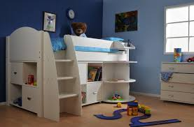 Stompa Bunk Beds Uk Stompa Rondo Midsleeper Frame Only Rainbow Wood