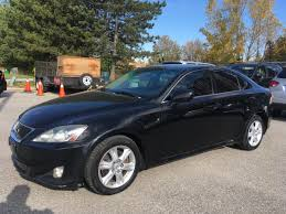 black lexus 2008 used 2008 lexus is 250 6 speed black for sale in scarborough